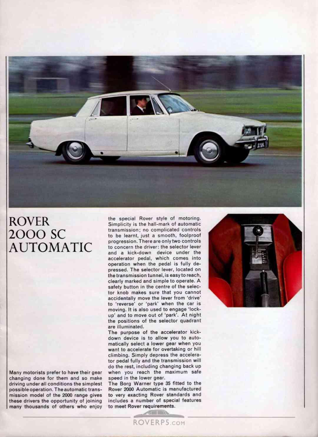 Brochure - 1967 - Rover - Page 11