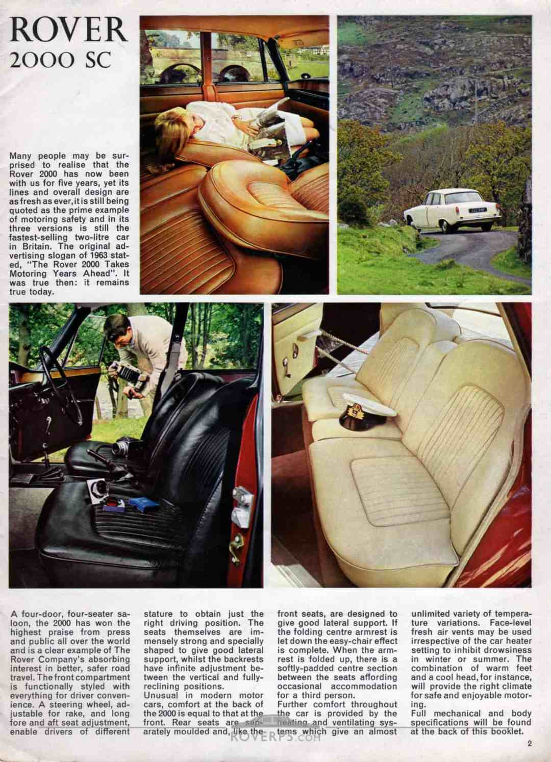 Brochure - 1968 - Rover - Page 02