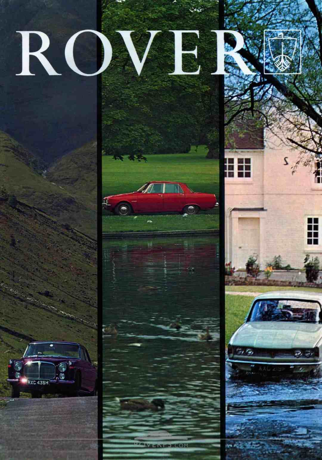 Brochure - 1969 - Rover - Front Cover