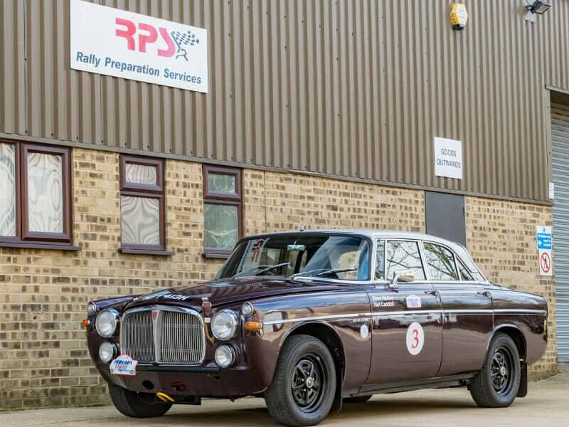Like Rallying? Got £55K? Rover P5B Coupe Classic Endurance Rally Car