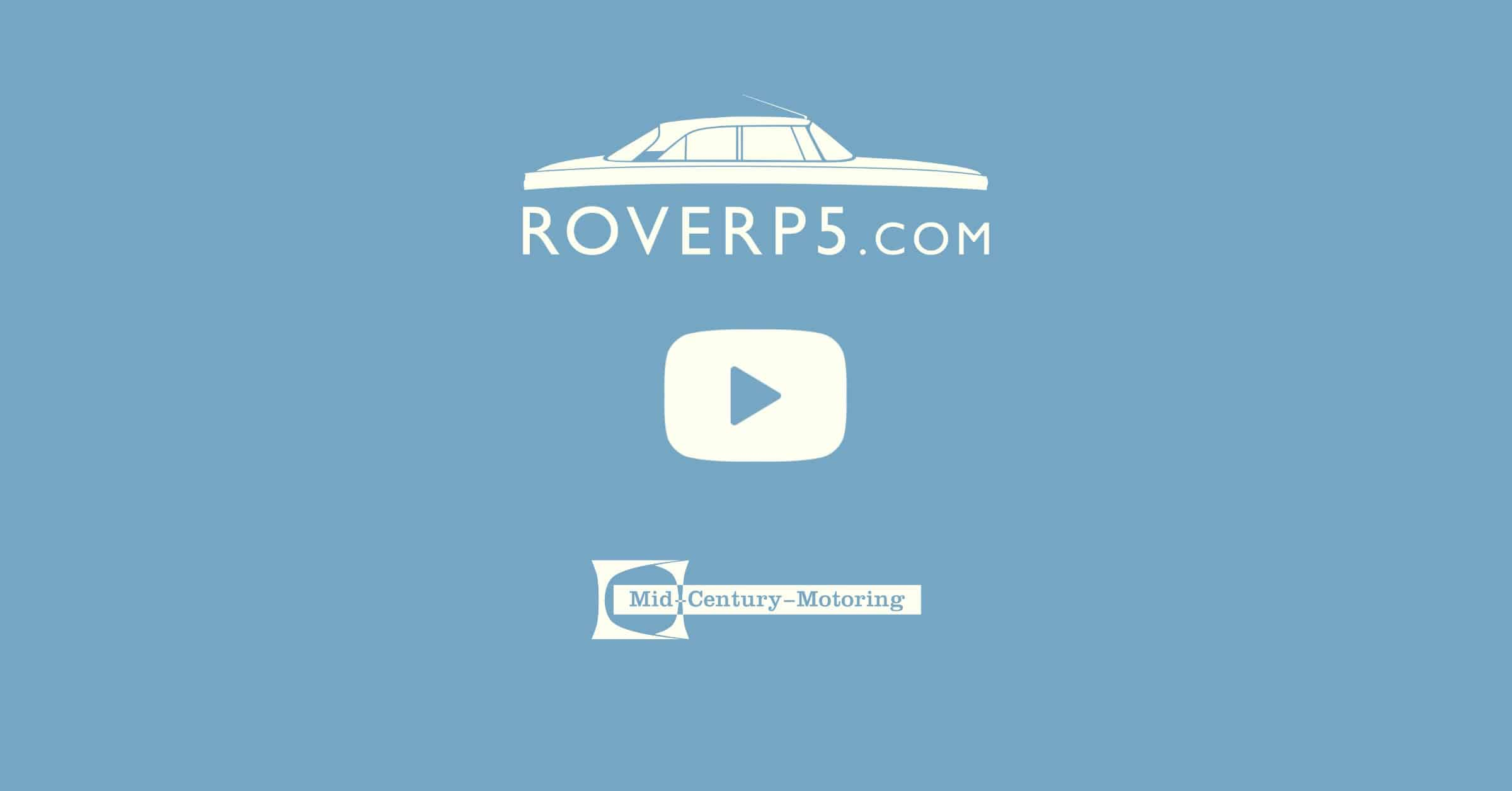 RoverP5.com Video: Quick Update and First Start