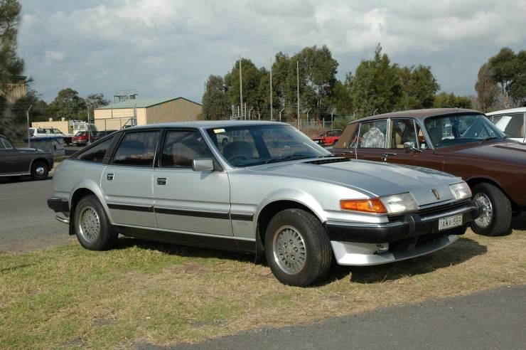 DSC_0187 1985 Rover Vanden Plas 3500 Albion Park 20-5-2006