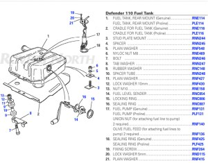 Defender Fuel Tank   Rovers North  Land Rover Parts and
