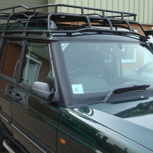 roof rack discovery ii with roof rails rrl1560rra rovers north land rover parts and accessories since 1979