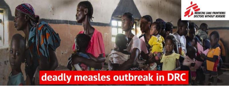 Γιατροί Χωρίς Σύνορα – Κονγκό: Η χειρότερη επιδημία ιλαράς από το 2011