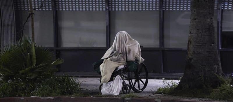 Άστεγος στη Νέα Υόρκη