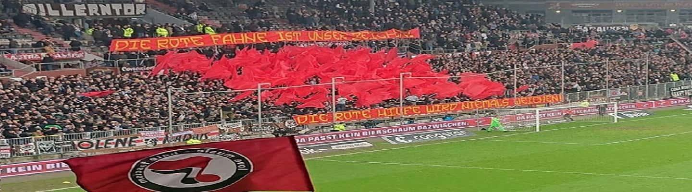«Η κόκκινη σημαία είναι το σύμβολό μας»