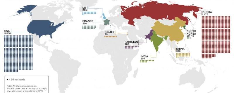 «SIPRI»: Οι πυρηνικές δυνάμεις εκσυγχρονίζουν το οπλοστάσιό τους