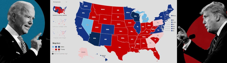 Αμερικανικές εκλογές: Προβάδισμα Μπάιντεν έναντι του Τραμπ
