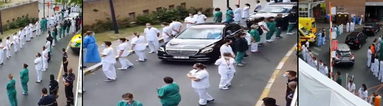 Βέλγιο: Γύρισαν επιδεικτικά την πλάτη στην Πρωθυπουργό οι εργαζόμενοι σε νοσοκομείο