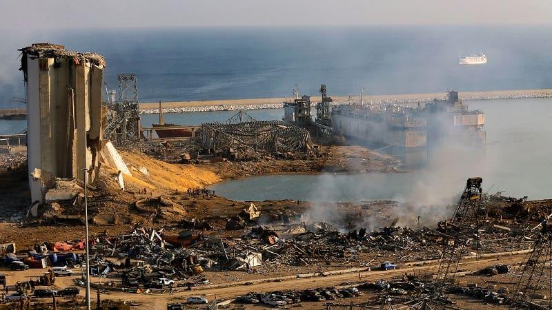 Βηρυτός: Δείτε το μέγεθος της καταστροφής από την ισχυρότατη έκρηξη