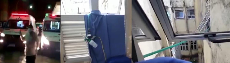 Βραζιλία: Πλάνα ντροπής και απόλυτο χάος στα νοσοκομεία