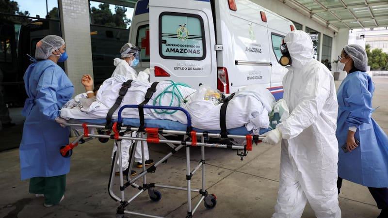 Βραζιλία: Τα νοσοκομεία έχουν μετατραπεί σε «θαλάμους ασφυξίας»