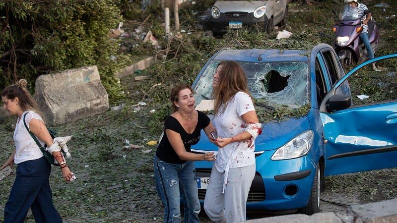 Δραματικές ώρες στη Βηρυτό: Τουλάχιστον 50 νεκροί και 3.000 τραυματίες από τις εκρήξεις