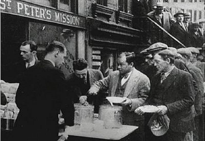 Συσσίτιο στη Νέα Υόρκη το 1932