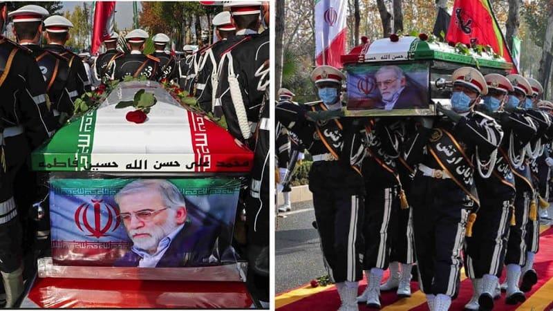 Κηδεία ιρανού επιστήμονα