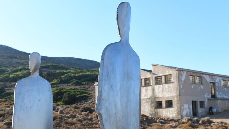 Μνημείο του ΚΚΕ στη Μακρόνησο