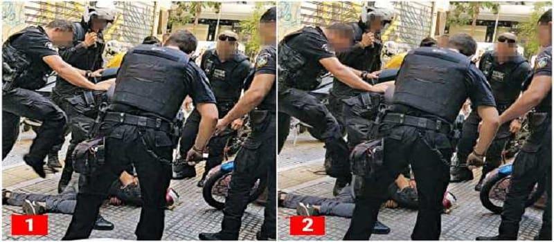 Μπάτσοι κλωτσούν τον αναίσθητο Ζακ Κωστόπουλο
