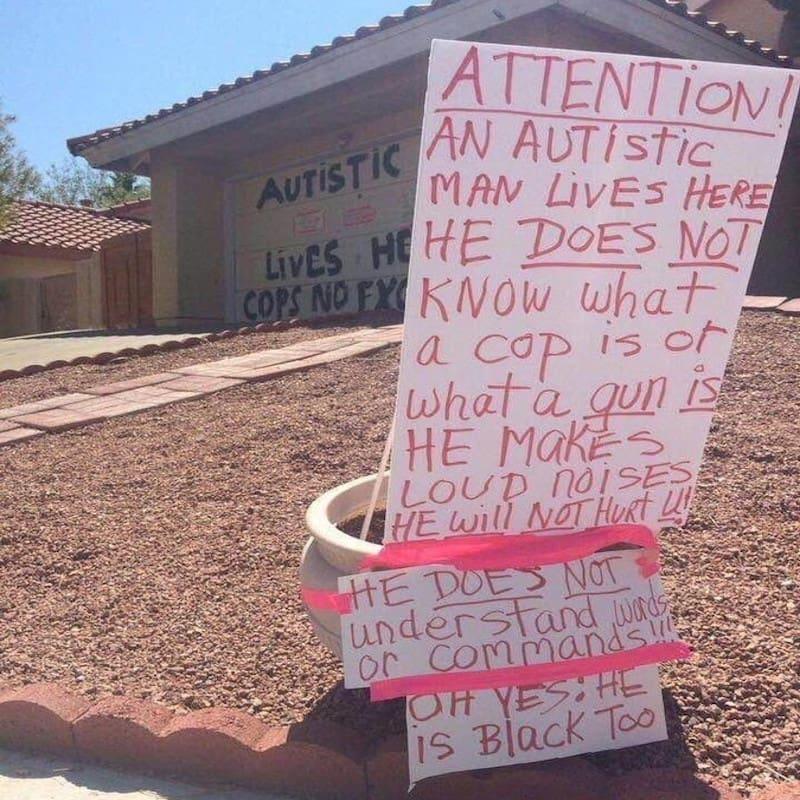 ΝτομινίκΓουίλκινς: «Εδώ ζει ένας αυτιστικός και είναι μαύρος» μην πυροβολείτε