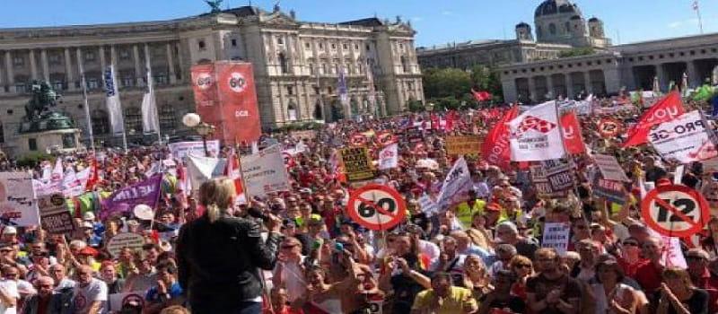 Νόμος του Κράτους κι επισήμως το 12ωρο στην Αυστρία