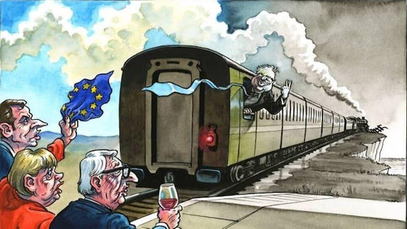 Οι Βρετανοί γελοιογράφοι αποχαιρετούν την ΕΕ με καυστικό χιούμορ