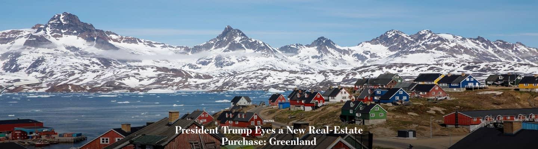 Ο Τραμπ θέλει να αγοράσει την Γροιλανδία υποστηρίζει η «Wall Street Journal»