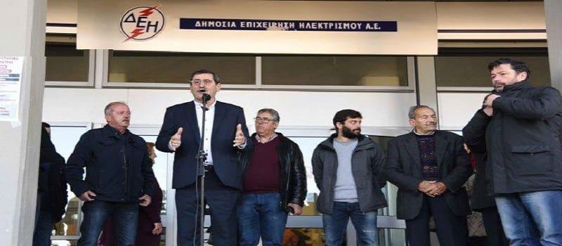 Πελετίδης - «Αν θέλουν να παραλύσει η ΔΕΗ θα το κάνουμε»