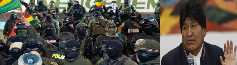 Πραξικόπημα στη Βολιβία - Παραιτήθηκε ο Μοράλες