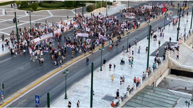 Πρώτο ψέμα στην προπαγάνδα: «100 εκπαιδευτικοί έκλεισαν το κέντρο της Αθήνας»
