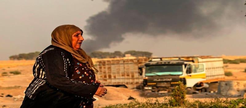 Τουρκικοί βομβαρδισμοί στη Συρία