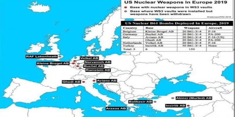 Σε μόνιμη ετοιμότητα για την αποθήκευση πυρηνικών ο Άραξος
