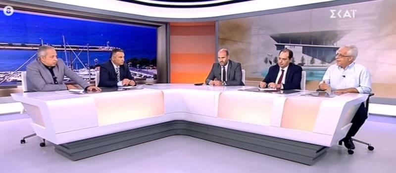 Σοφιανός στον Σκάι: «Το κανάλι σας εκτός από δημοσιογράφους έχει και ιδιοκτήτες»