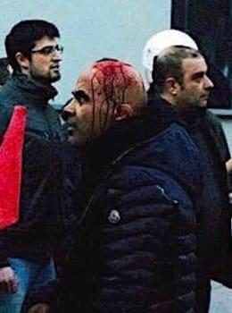 Στη φρουρά του Αυγενάκη ο «διπλοθεσίτης» μπράβος που είχε επιτεθεί στους απεργούς του «Market In»