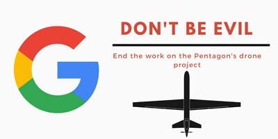 Συνεργασία Google και Στρατού με παραιτήσεις 12 υπαλλήλων