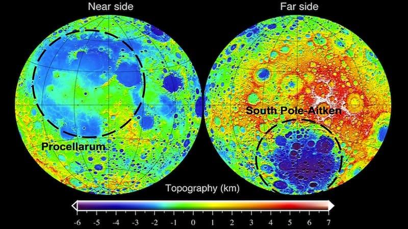 Τεράστια μεταλλική μάζα εντοπίστηκε στo εσωτερικό της Σελήνης