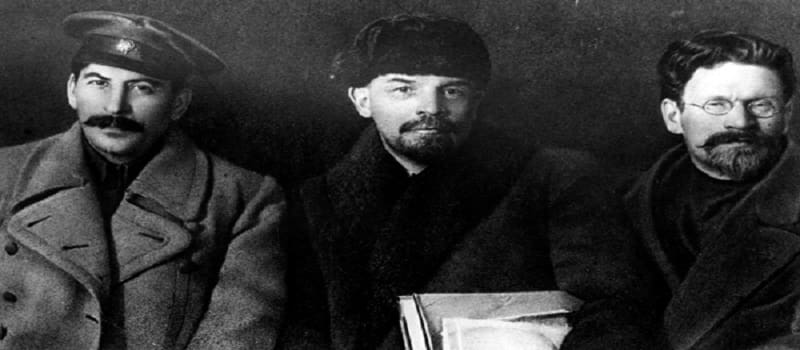 Στάλιν, Λένιν, Τρότσκι...