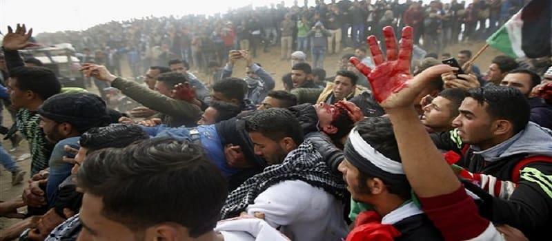 2018 - Η χρονιά που έσπειρε το θάνατο στην Παλαιστίνη