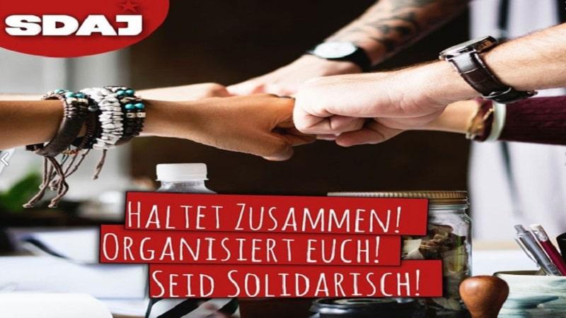 Mείνετε ενωμένοι - Δείξτε αλληλεγγύη