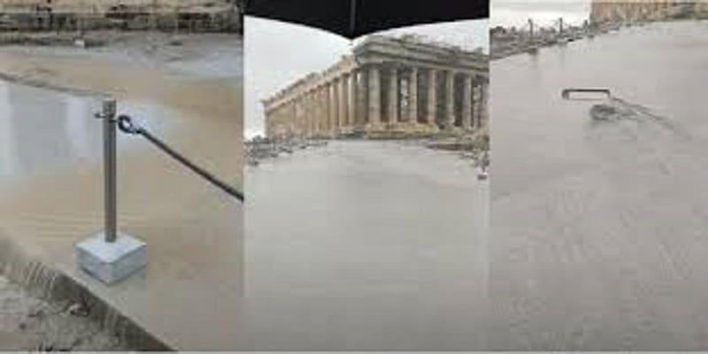Εικόνες ντροπής στην Ακρόπολη