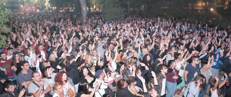Μεγάλη επιτυχία του 43ου φεστιβάλ της ΚΝΕ