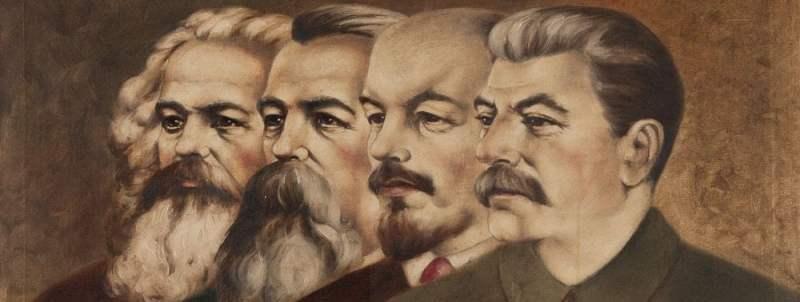Μαρξ - Ένγκελς - Λένιν - Στάλιν