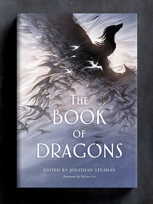 The Book of Dragons: Cover & Interior Spots