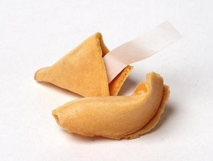 My Fortune Cookie: You will step foot on many foreign lands