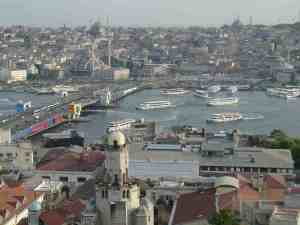 Istanbul's Bosphorus and Golden Horn are the life blood of the city