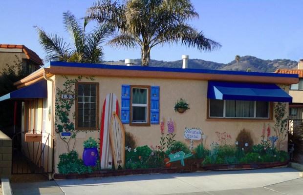Pismo Beach Wall Mural California