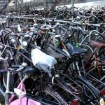 Bike Park in Amsterdam