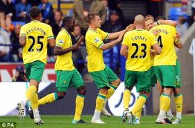 Norwich City Football Team photo from the Daily Mail
