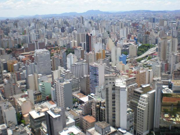 Sao Paulo Concrete Jungle Brazil