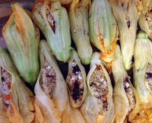 Stuffed Zuchinni Blossom Ingredient