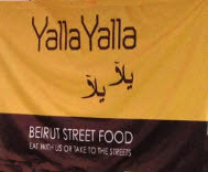 Yalla Yalla Pop Up, London